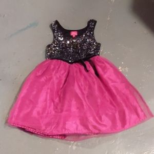 Pinky girls dress